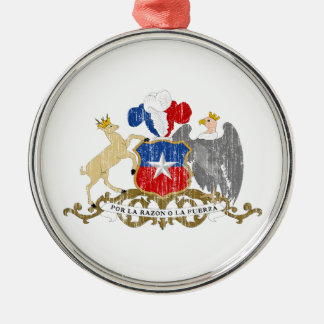 Chile Coat Of Arms Christmas Tree Ornament