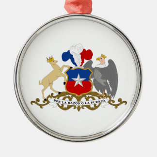 Chile Coat Of Arms Christmas Ornaments