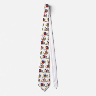 Chile Coat of Arms detail Tie
