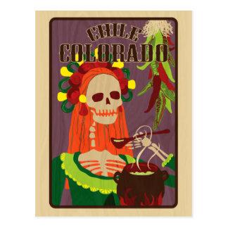 chile colorado postcard