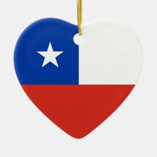 CHILE CHRISTMAS TREE ORNAMENT
