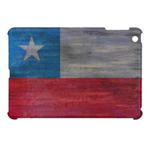Chile distressed Chilean flag Case For The iPad Mini