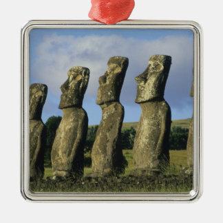 Chile, Easter Island, Rapa Nui, Ahu Akivi Ornaments