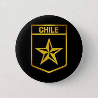 Chile Emblem 6 Cm Round Badge