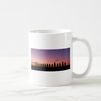 Chile Figures In The Sunset Coffee Mug