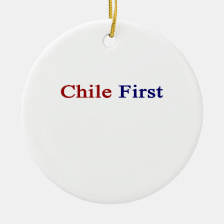 Chile First Ornament