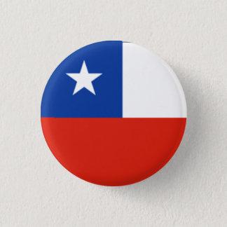Chile Flag 3 Cm Round Badge