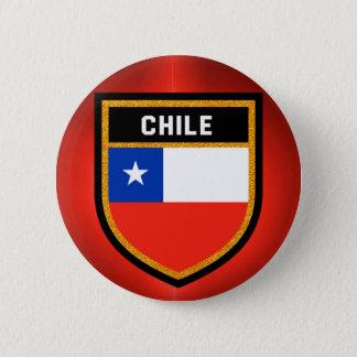 Chile Flag 6 Cm Round Badge