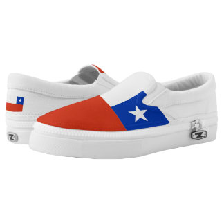 Chile Flag Chilean Slip On Shoes