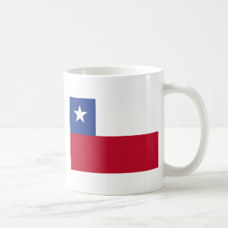 Chile flag coffee mug
