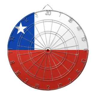 Chile Flag Dartboard