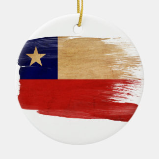 Chile Flag Ornaments