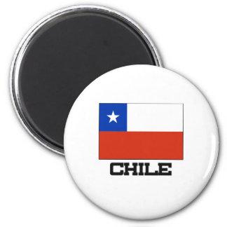 Chile Flag Fridge Magnets