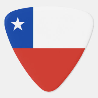 Chile Flag Guitar Pick