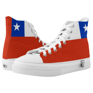 Chile Flag High Tops