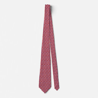 Chile Flag Honeycomb Tie