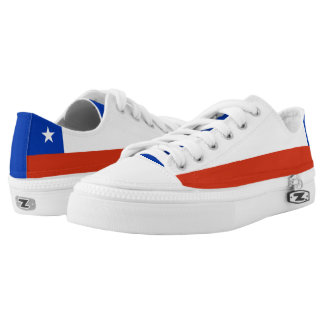 Chile Flag Low Tops