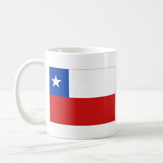 Chile Flag ~ Map Mug