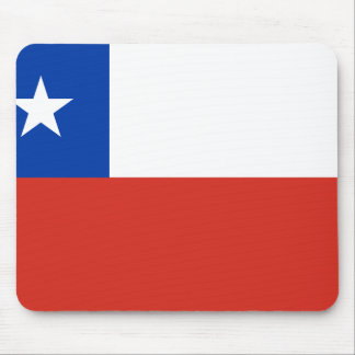 Chile Flag Mouse Pad