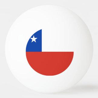 Chile Flag Ping Pong Ball