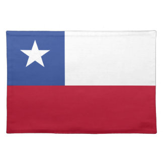 Chile flag placemat