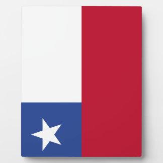 Chile flag plaque