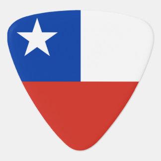 Chile Flag Plectrum