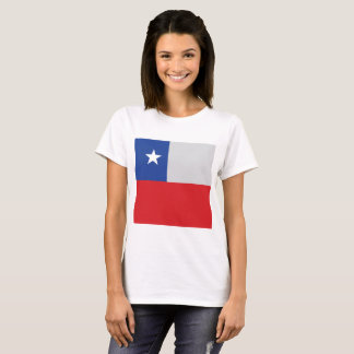 Chile Flag, Simple Chilean Colors T-Shirt