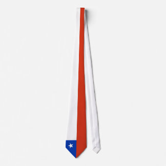 Chile Flag Tie