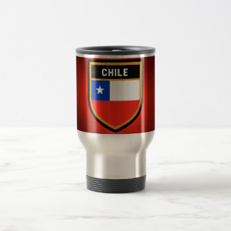 Chile Flag Travel Mug