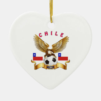 Chile Football Designs Christmas Tree Ornament