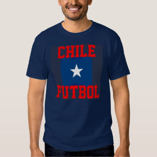 CHILE FUTBOL TEE SHIRTS