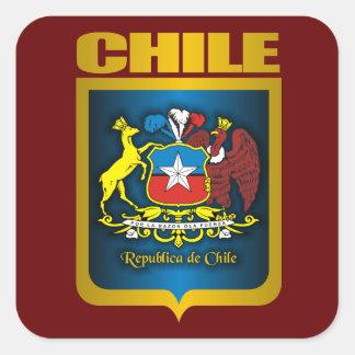 """""""Chile Gold"""" Square Sticker"""