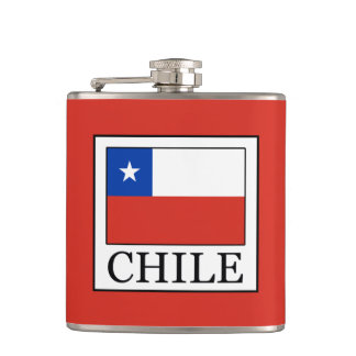 Chile Hip Flask