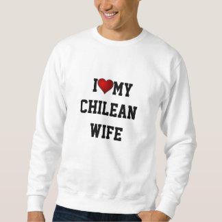 CHILE: I Love My Chilean Wife Sweatshirt