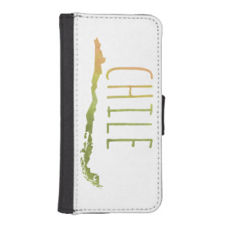 Chile iPhone SE/5/5s Wallet Case