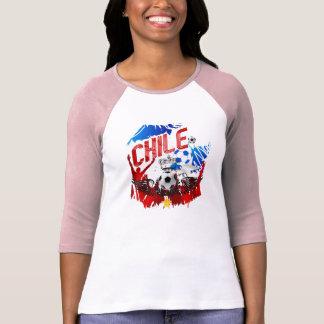 Chile La Roja grunge art soccer futbol gifts T-Shirt