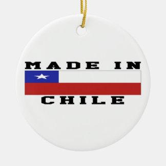 Chile Made In Designs Round Ceramic Decoration