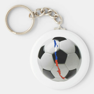Chile national team basic round button key ring