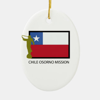 Chile Osorno Mission LDS CTR Christmas Ornament