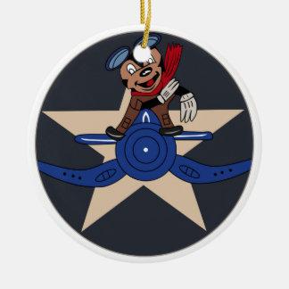 Chile Patch Chilean Air Force Fuerza Aerea de Chil Christmas Ornaments