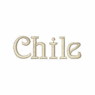 CHILE Patriotic Embroidered Designer Shirt