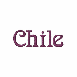 CHILE Patriotic Embroidered Designer Shirt
