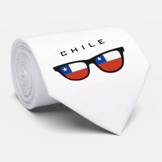 Chile Shades custom text & color tie