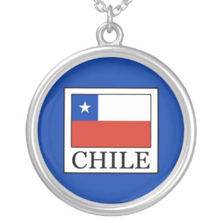 Chile Silver Plated Necklace