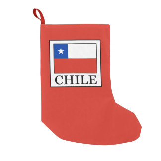 Chile Small Christmas Stocking