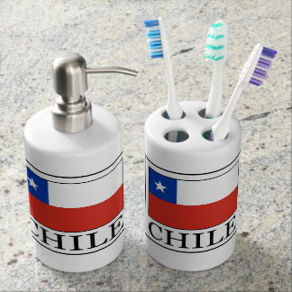 Chile Soap Dispenser And Toothbrush Holder
