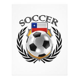 Chile Soccer 2016 Fan Gear 21.5 Cm X 28 Cm Flyer