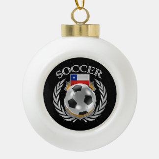 Chile Soccer 2016 Fan Gear Ceramic Ball Decoration