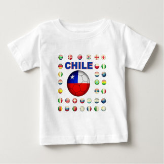 Chile Soccer 4813 Tees